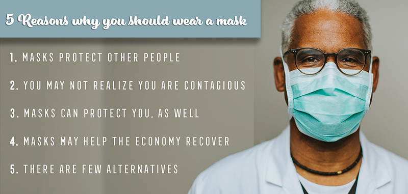 5 Reasons to Wear a Face Mask