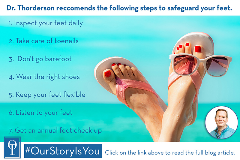 7 Ways To Safeguard Your Feet